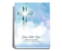 Adoration Perfect Bind 8x10 Funeral Guest Book Portrait