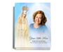 Blessed Perfect Bind 8x10 Funeral Guest Book with photo