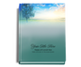 Destiny Perfect Bind Funeral Guest Book 8x10