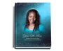 Devotion Perfect Bind Funeral Guest Book 8x10 with photo