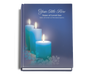 Enlighten Perfect Bind Funeral Guest Book 8x10