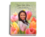 Harvest Perfect Bind Memorial Funeral Guest Book 8x10 with photo