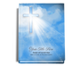 Heaven Perfect Bind Memorial Funeral Guest Book 8x10