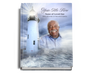 Lighthouse Perfect Bind Funeral Guest Book 8x10 with photo