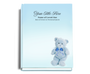 NurseryBoy Perfect Bind Funeral Guest Book 8x10