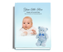 NurseryBoy Perfect Bind Funeral Guest Book 8x10 with photo