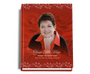 Passion Perfect Bind Funeral Guest Book 8x10 with photo