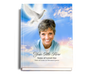 Peace Perfect Bind Funeral Guest Book 8x10 with photo