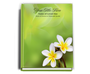 Plumeria Perfect Bind Funeral Guest Book 8x10