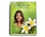 Plumeria Perfect Bind Funeral Guest Book 8x10 with photo