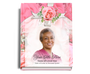Precious Perfect Bind Funeral Guest Book 8x10 with photo