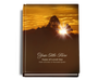 Renewal Perfect Bind Memorial Funeral Guest Book 8x10
