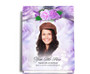Rapture Perfect Bind Memorial Funeral Guest Book 8x10 with photo