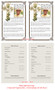 Bethany Funeral Flyer Half Sheets Template inside view