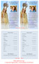 Blessed Funeral Flyer Half Sheets Template inside view