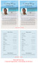 Caribbean Funeral Flyer Half Sheets Template inside view