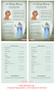 Charity Funeral Flyer Half Sheets Template inside view