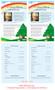 Delight Funeral Flyer Half Sheets Template inside view