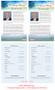 Destiny Funeral Flyer Half Sheets Template