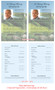 Golfer Funeral Flyer Half Sheets Template inside view