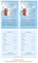Heaven Funeral Flyer Half Sheets Template inside view