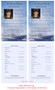 Navy Funeral Flyer Half Sheets Template inside view