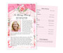 Precious Funeral Flyer Half Sheets Template