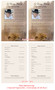 Ranch Funeral Flyer Half Sheets Template inside view