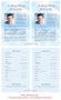 Skyblue Funeral Flyer Half Sheets Template inside view