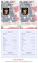 U.S. Flag Funeral Flyer Half Sheets Template inside view