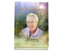 Serenity Perfect Bind Memorial Guest Registry Book 8x10 with photo