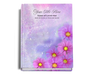 Sparkle Perfect Bind Memorial Guest Registry Book 8x10