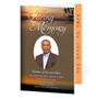 Kenya Letter 4-Sided Graduated Funeral Program Template