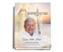 Vision Perfect Bind Memorial Guest Sign-In Book with photo