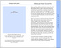 Destiny 8-Sided Graduated Funeral Program Template page 2
