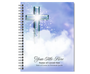 Adoration Spiral Wire Bind Memorial Guest Book Sign In