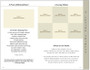 Fishing 8-Sided Graduated Funeral Program Template page 3