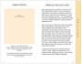Floral 8-Sided Graduated Funeral Program Template page 1