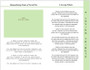 Garden 8-Sided Graduated Funeral Program Template page 1
