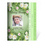 Garden 8-Sided Graduated Funeral Program Template