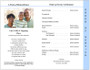 Gates 8-Sided Graduated Funeral Program Template page 3