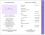 Glorify 8-Sided Graduated Funeral Program Template page 2