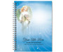 Angelica Spiral Wire Bind Memorial Guest Book