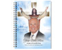 Assurance Spiral Wire Bind Memorial Guest Book with photo