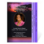 Imagine 8-Sided Funeral Graduated Program Template (Letter Size)