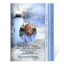 Lighthouse 8-Sided Graduated Funeral Program Template