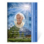 Outdoor DIY 8-Sided Funeral Graduated Program Template