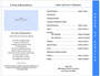Peace DIY 8-Sided Funeral Graduated Program Template inside view 3