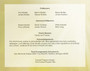 Bouquet Bottom Graduated Funeral Template back cover