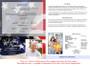 US Flag 8-Sided Bottom Fold Graduated Program Template back cover